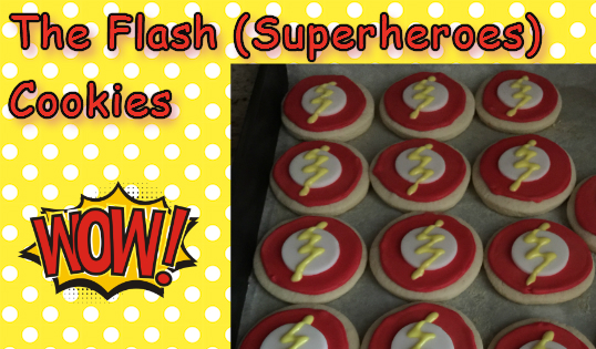 The Flash Sugar Cookies (Decorating Tutorial) Part 2