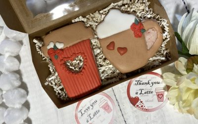 Valentine's Day Sugar Cookies Ideas and Tags