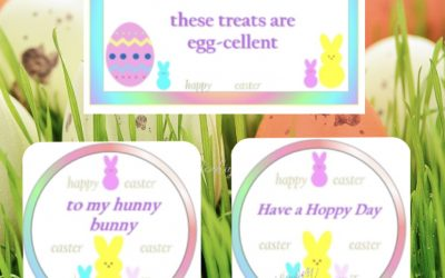 Easter Sugar Cookies Ideas and Free Tags