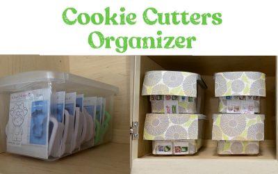 Cookie Cutters Organizer