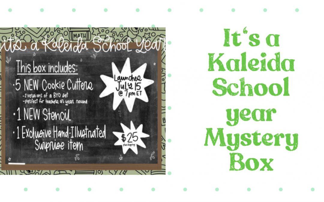 its a Kaleida School Year Mystery Box